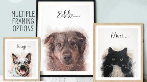 LMTCreativeAtHome Custom Pet Portrait