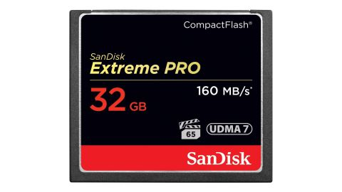 SanDisk Extreme Pro CompactFlash Memory Card 32 GB