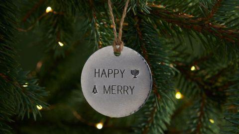 Fusioned Family Festive Tree Ornament