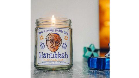 Nostalgix Candles Larry David Hanukkah Candle