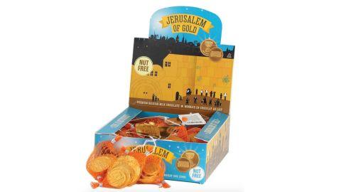 The Holiday Aisle 120-Piece Hanukkah Chocolate Gelt Coin Sack Set