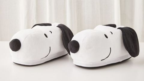 Smoko Heated Snoopy Slipper