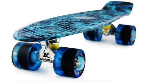 Meketec Skateboards 22-Inch Retro Skateboard