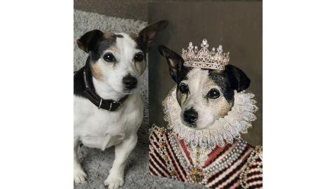 Princess - Custom Royal Pet Portrait