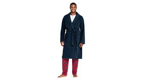 Lands' End Men's Fleece Robe
