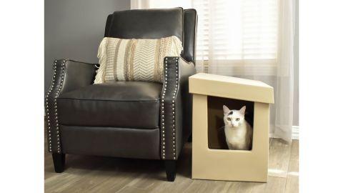 Kitangle Slope Style Cat Litter Box, XL
