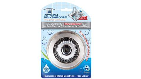 Kitchen SinkShroom Stainless Steel Sink Strainer