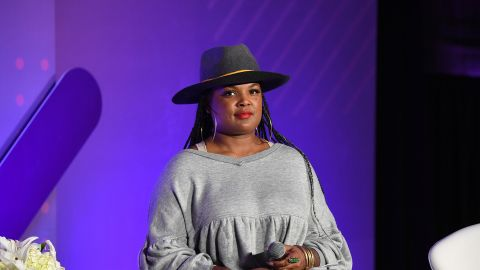 Beatrice Dixon speaks onstage during ESSENCE + New Voices Entrepreneur Summit And Target Holiday Market at West End Production Park on December 15, 2019 in Atlanta, Georgia. (Photo by Paras Griffin/Getty Images for ESSENCE)