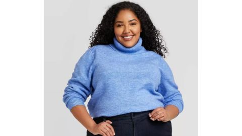 A New Day Women's Turtleneck Pullover Sweater