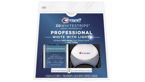 Crest 3D Whitestrips Professional White With Light Kit