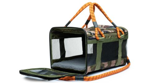 Get 20% off this Out-of-Office Pet Carrier by Roverlund, and keep your pet as stylish as you.
