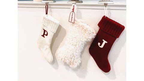 Wondershop Knit Monogram Christmas Stocking