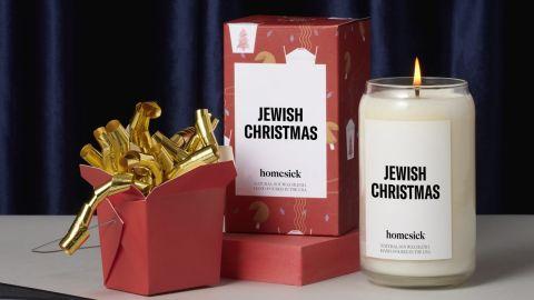 Jewish Christmas Candle