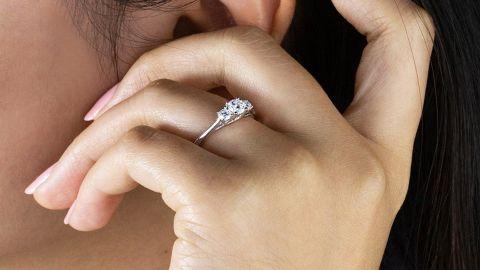 Cascais Lab Diamond Ring