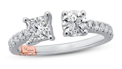 Pnina Tornai Diamond Engagement Ring
