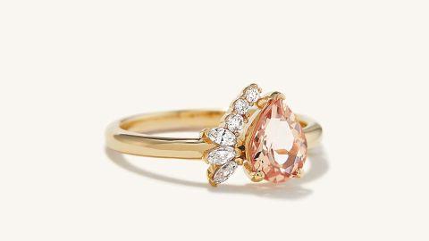 Pear-Cut Ring