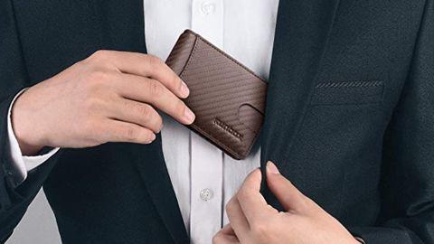 Runbox Minimalist Slim Wallet with Money Clip