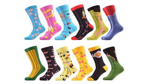 Men's Cotton Crew Socks Pack
