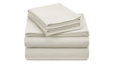 Pinzon Signature Cotton Heavyweight Velvet Flannel Sheet Set