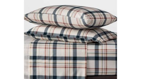 Threshold Printed Flannel Sheet Set