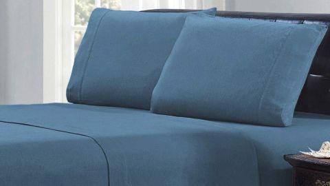 Mellanni 100% Cotton Flannel Sheet Set