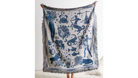 Zodiac Woven Throw Blanket