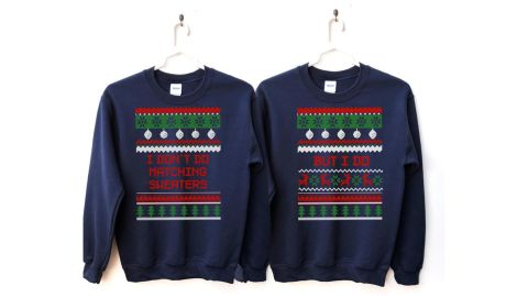 Den of Six Couples Christmas Sweater