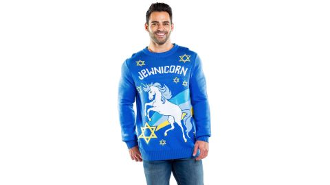 Tipsy Elves Jewnicorn Sweater