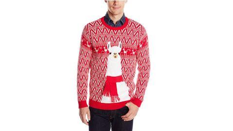 Blizzard Bay Ugly Christmas Sweater Llama