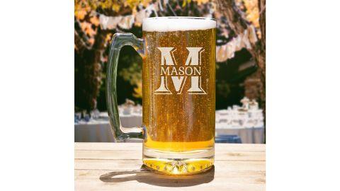 Personalized Beer Mug, Engraved