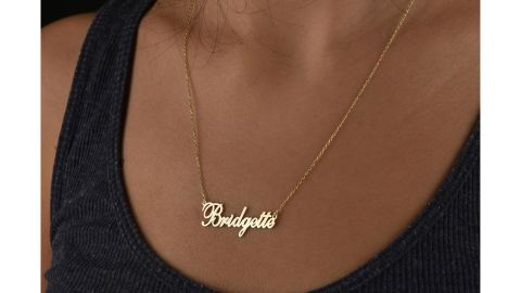 Custom Cursive Name Necklace