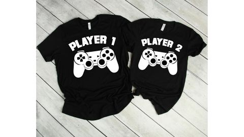 Couple Gamer Shirts