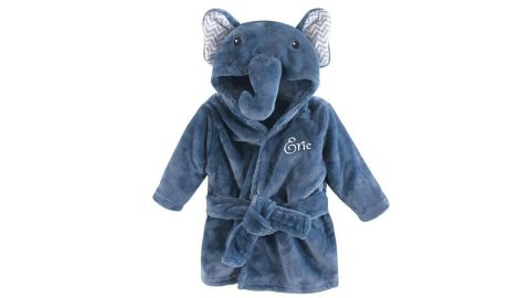 Personalized Baby Bathrobe, Embroidered and Monogrammed
