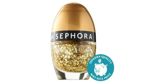 Sephora Collection Color Hit Mini Nail Polish in Gold Fever