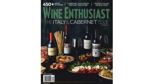 Wine Enthusiast 1-Year Print Magazine Subscription