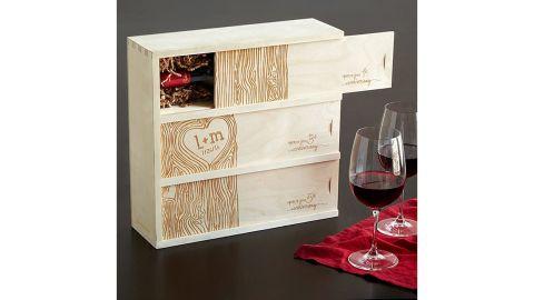 Uncommon Goods Anniversary Wine Box