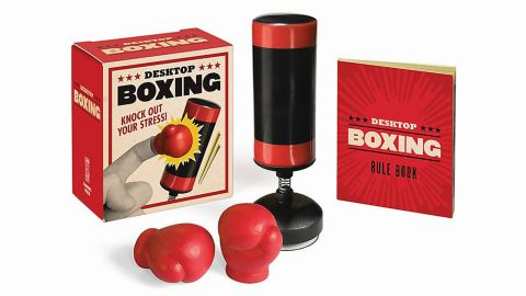 Running Press Desktop Boxing- Knock Out Your Stress!