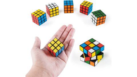 Super Z Outlet Mini Color Cube Puzzle, 6-Pack
