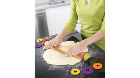 Joseph Joseph Adjustable Rolling Pin With Removable Rings