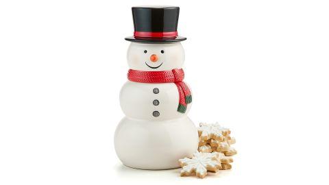 Martha Stewart Collection Snowman Figural Cookie Jar