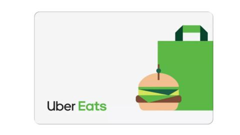 Uber Eats Gift Card