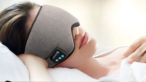 Skyeol Bluetooth Sleeping Eye Mask With Headphones