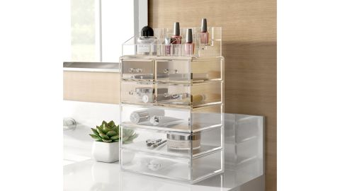 Dotted Line Cece Makeup Cosmetic Organizer