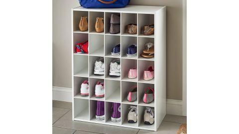 ClosetMaid 25-Pair Stackable Shoe Rack