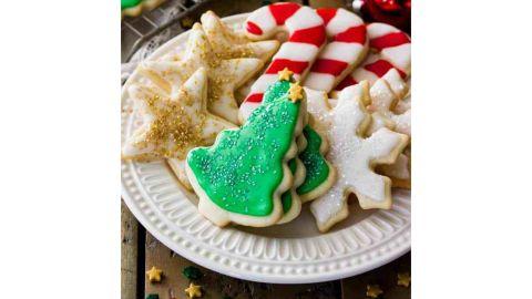 Sugar Spun Run's Easy Iced Sugar Cookies
