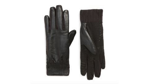 U|R Leather Touch-Screen-Compatible Gloves