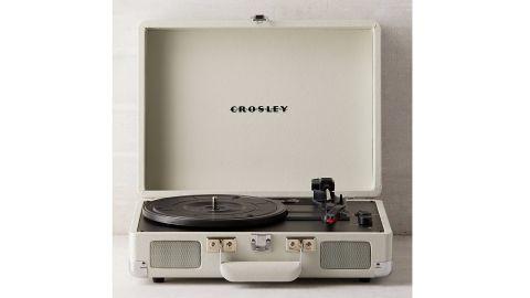 Crosley Dove Gray Cruiser Bluetooth Record Player