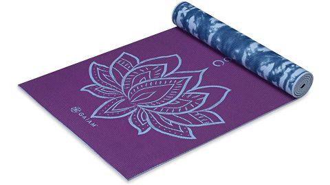 Premium 6mm Print Reversible Extra-Thick Yoga Mat