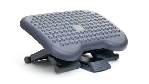 Mind Reader 3-Position Adjustable Height Ergonomic Footrest