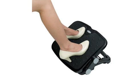 Alera Soft Cushioned Ergonomic Footrest